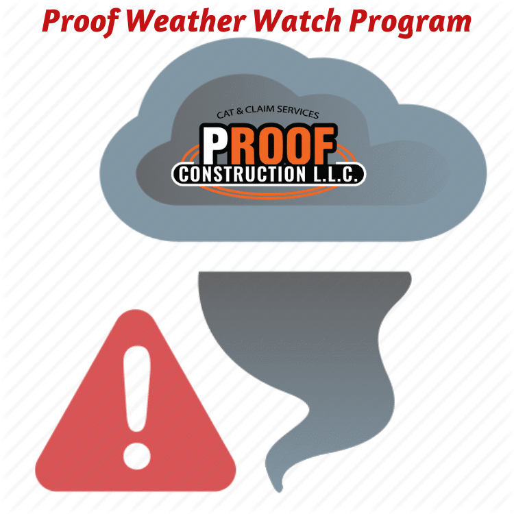 Proof Construction & Remodeling in Tulsa Proof Warranty & Weather Watch Program